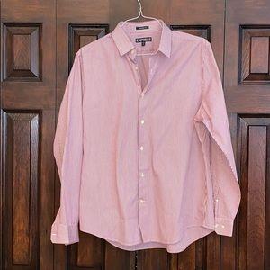 Excellent condition men's button down dress shirt